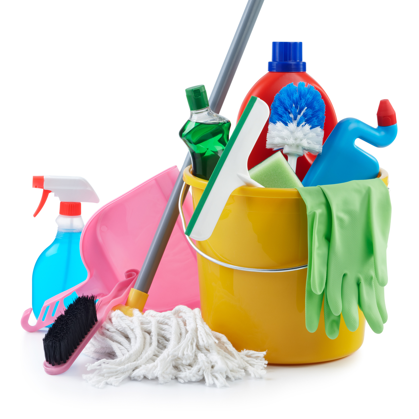 group-cleaning-products